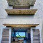 Hix Island House entrada