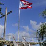 Mirador el Cerro Monumento a la Bandera Puertorriqueña Coamo, Puerto Rico