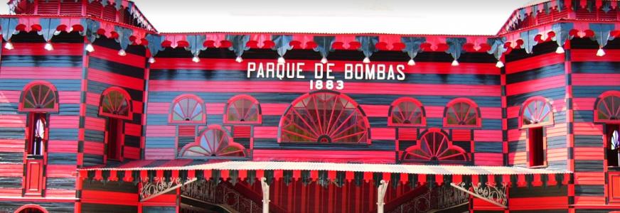 Cañon Español Parque de Bombas Ponce, Puerto Rico