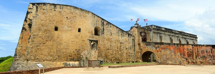 Castillo San Cristóbal Viejo San Juan, Puerto Rico