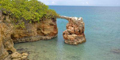 Arco natural en Cabo Rojo