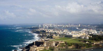 Vista aérea de El Morro Puerto Rico